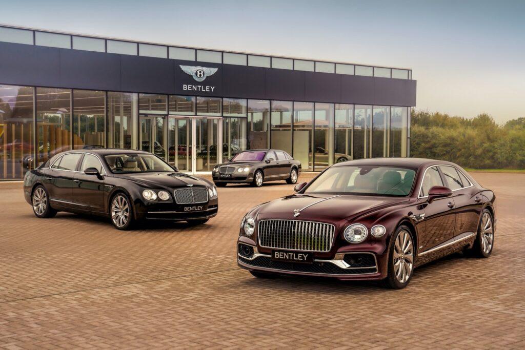 Bentley Flying Spur: oltre 40 mila esemplari prodotti dopo 15 anni e 3 diverse generazioni