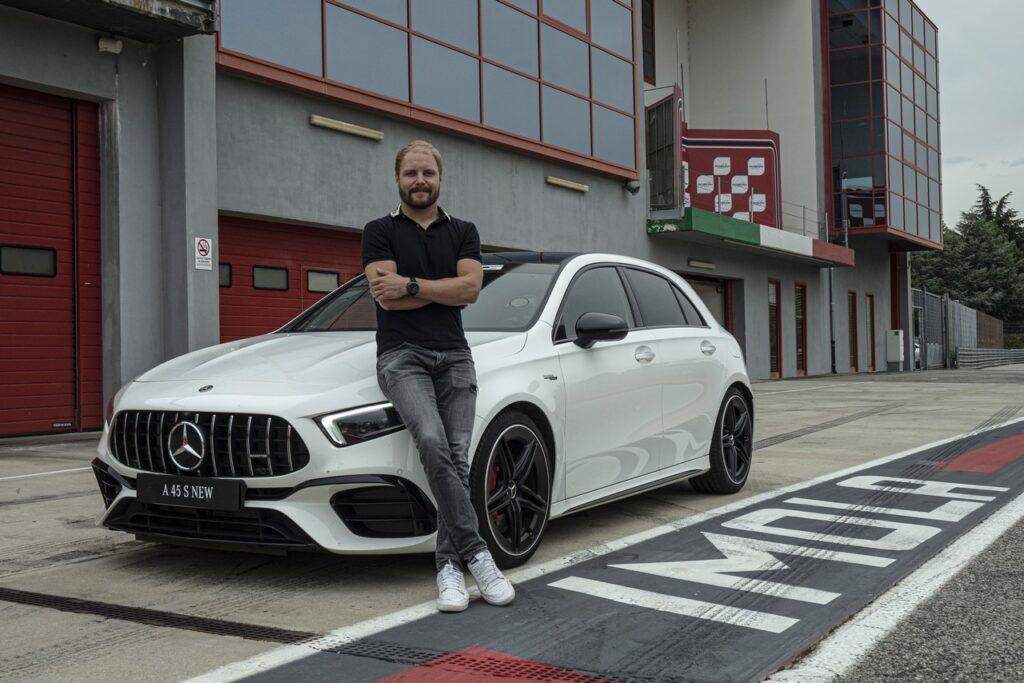 Mercedes-AMG A 45 S: c'è Valtteri Bottas al volante ad Imola [VIDEO]