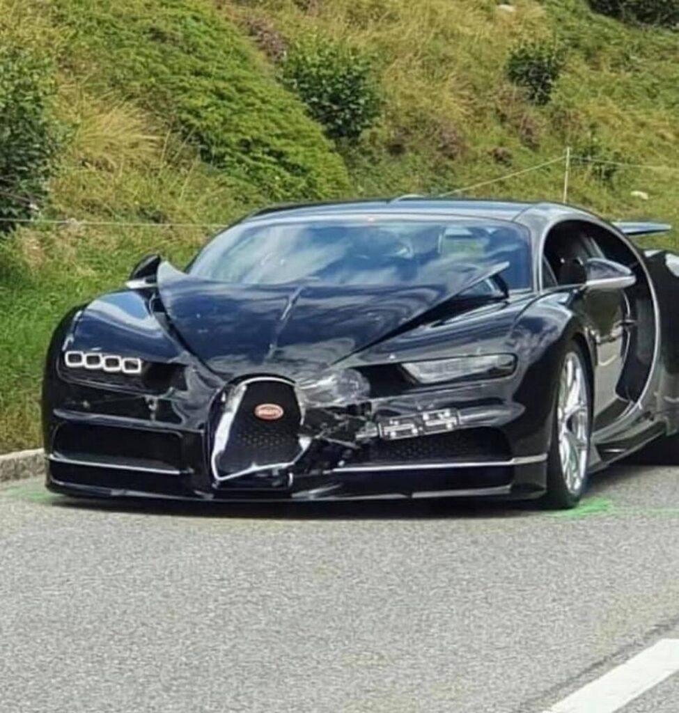 Incidente tra supercar con Bugatti, Porsche e Mercedes. 3,5 milioni di euro di danni [VIDEO]