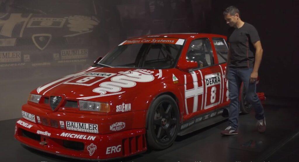 Alfa Romeo: la visita di Giancarlo Fisichella al Museo [VIDEO]