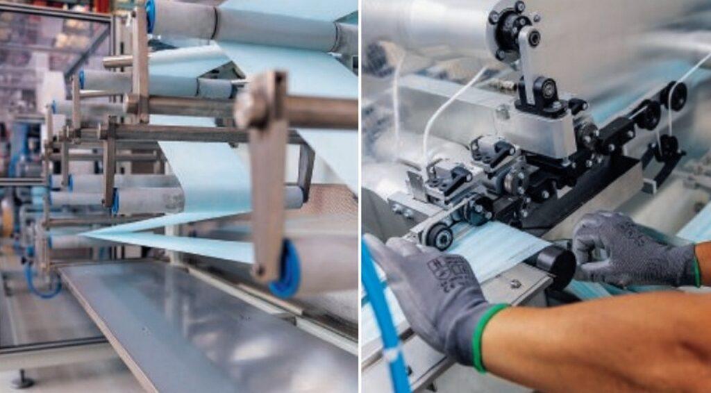 FCA: avviata la produzione di mascherine chirurgiche con l'obiettivo di 27 milioni di pezzi al giorno