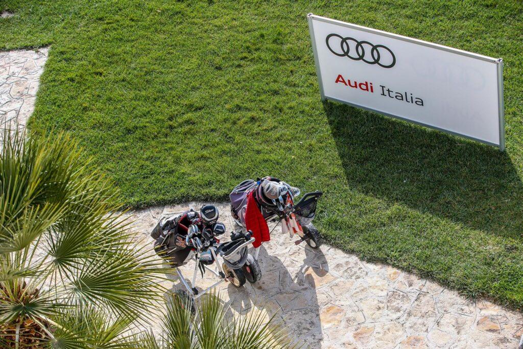 Audi e il golf. La e-tron Sportback [VIDEO] come sponsor