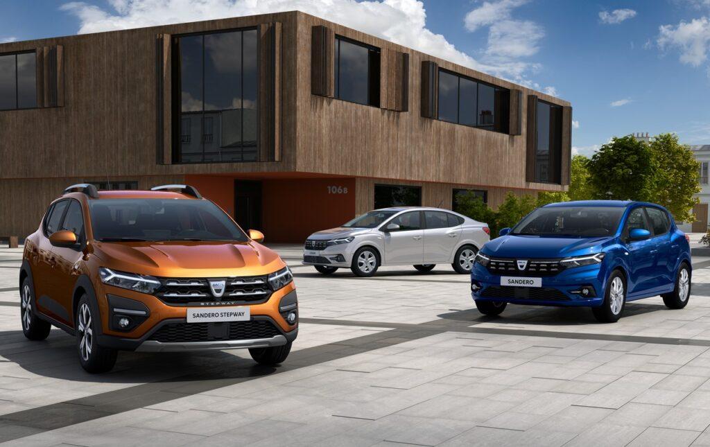 Dacia Sandero, Logan e Sandero Stepway 2021: ecco la terza generazione