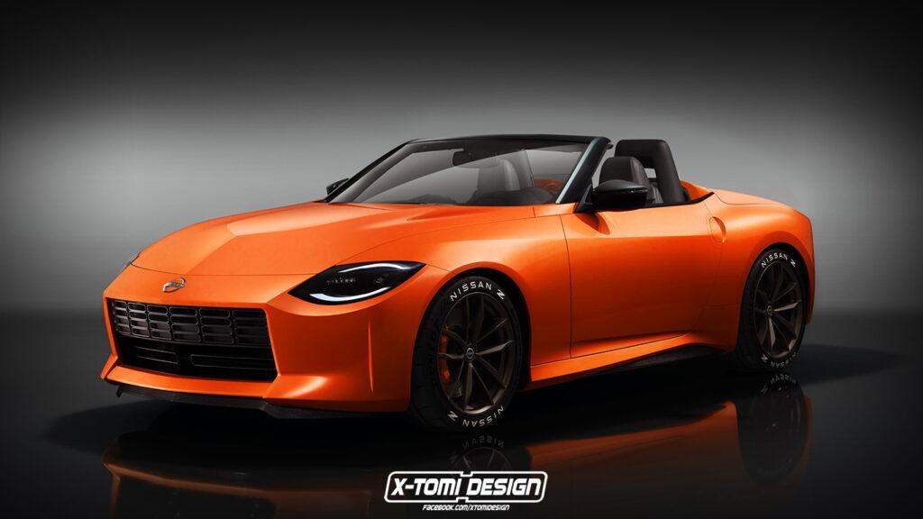 """Nissan Z Proto Roadster: l'idea che """"apre"""" la nuova sportiva giapponese [RENDER]"""