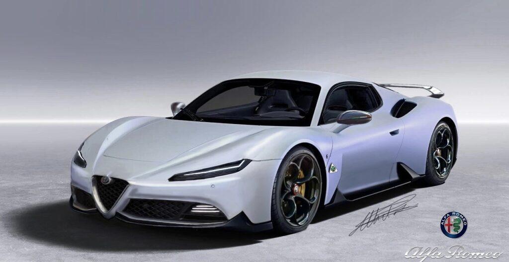 Alfa Romeo 6C: una nuova idea stilistica per una sportiva [RENDER]