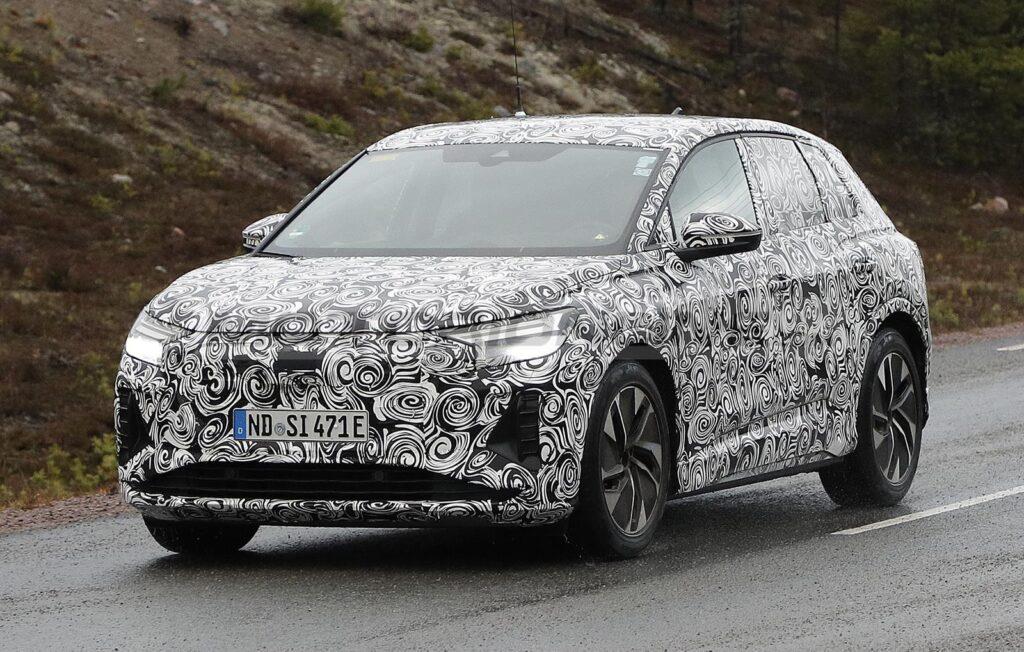 Audi Q4 e-tron - Foto spia 18-11-2020