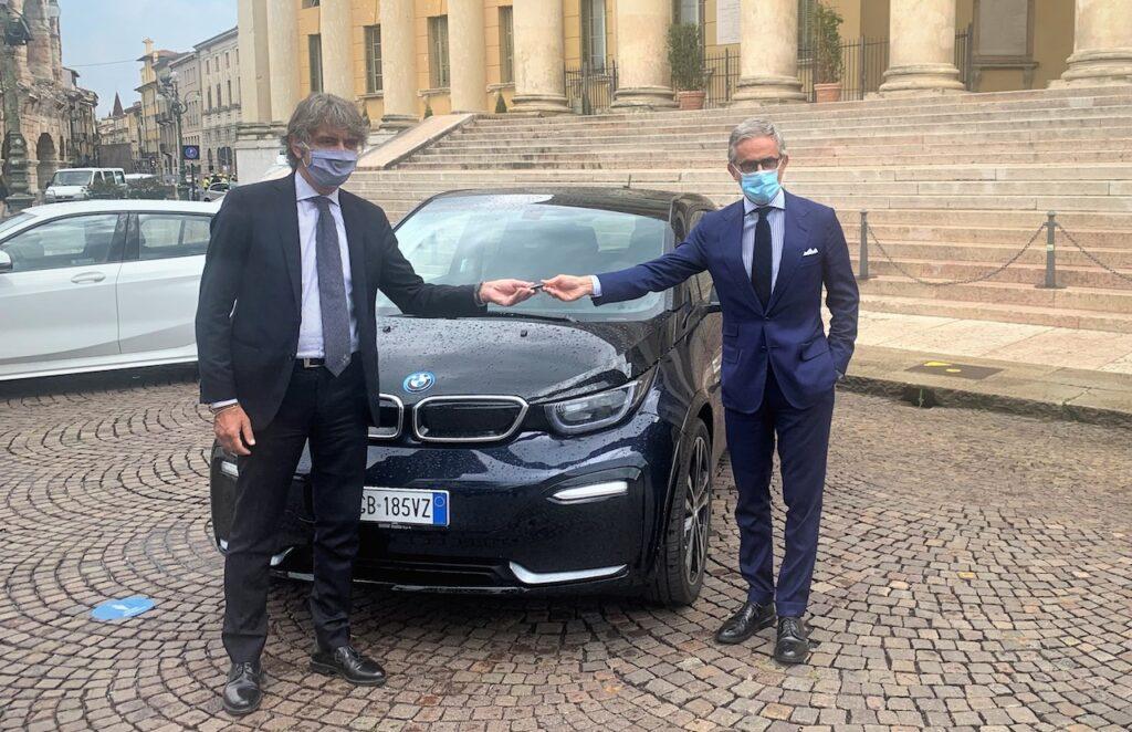 BMW: due vetture al Comune di Verona, per la mobilità sostenibile