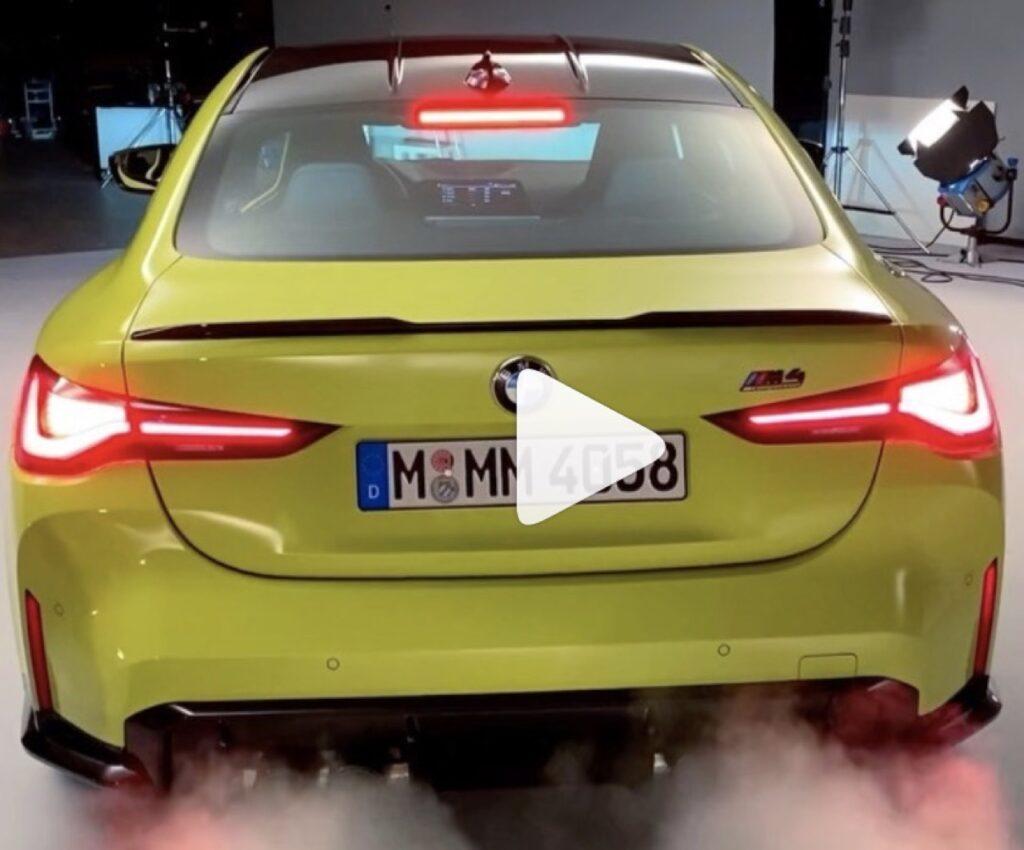 BMW M4 Competition 2021: sentite il SOUND dei suoi 510 CV [VIDEO]