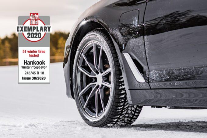 Pneumatici invernali: i nuovi Hankook Winter i*cept evo 3 e 3 X al top nei test di Auto Bild
