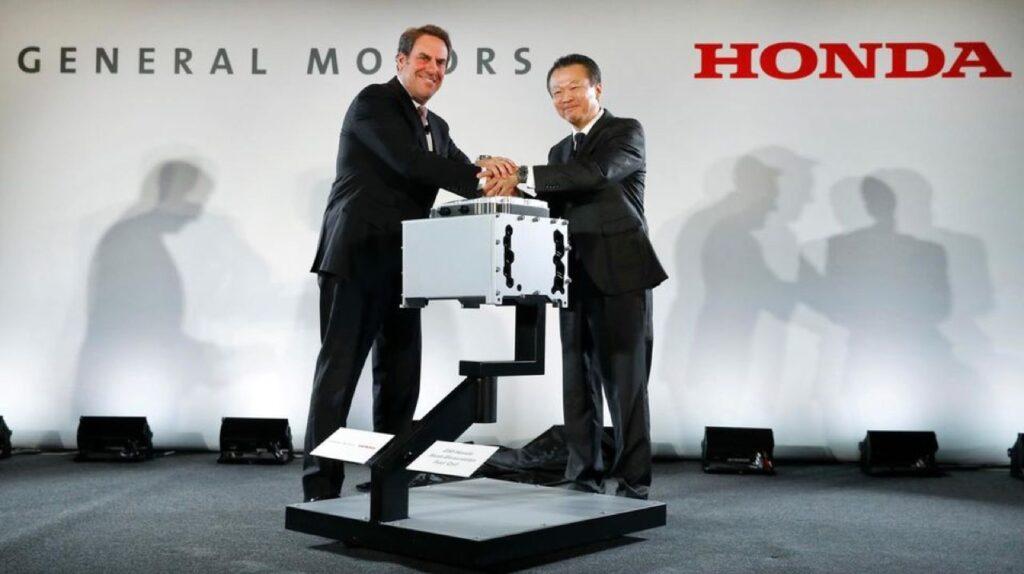 Una nuova alleanza tra General Motors e Honda per il Nord America