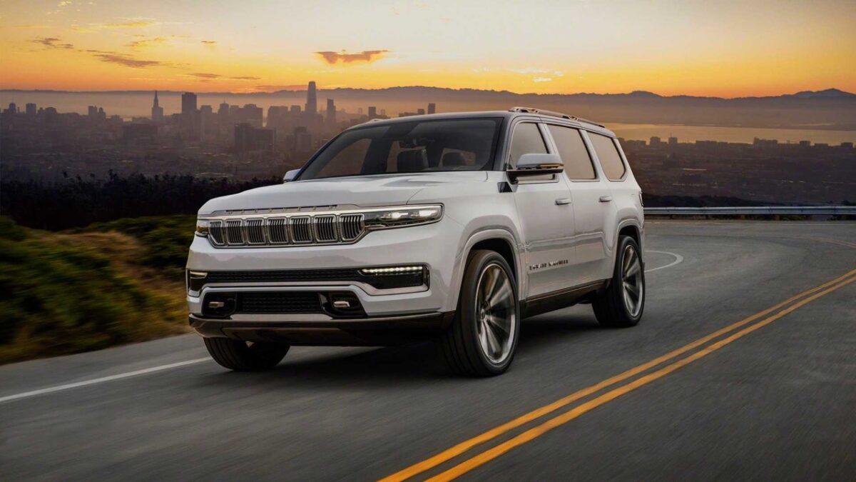 Jeep Grand Wagoneer 2021: arriva la Concept del SUV premium americano XXL