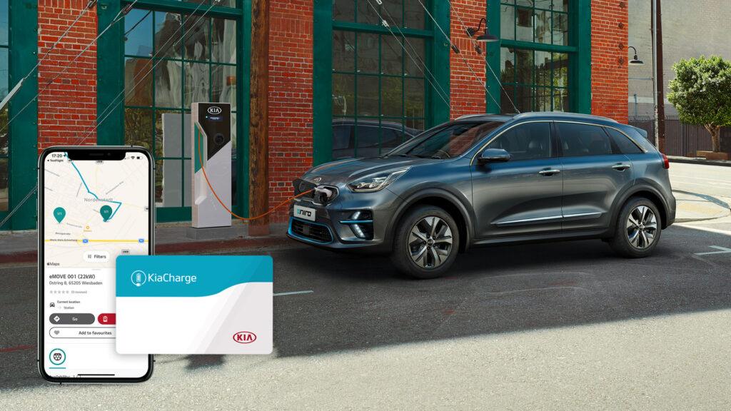 Kia lancia KiaCharge, la rete di ricarica europea per veicoli elettrici e ibridi plug-in