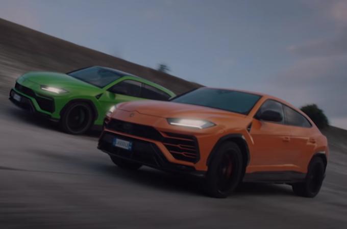 Lamborghini Urus: inseguimento adrenalinico per le versioni Pearl Capsule [VIDEO]