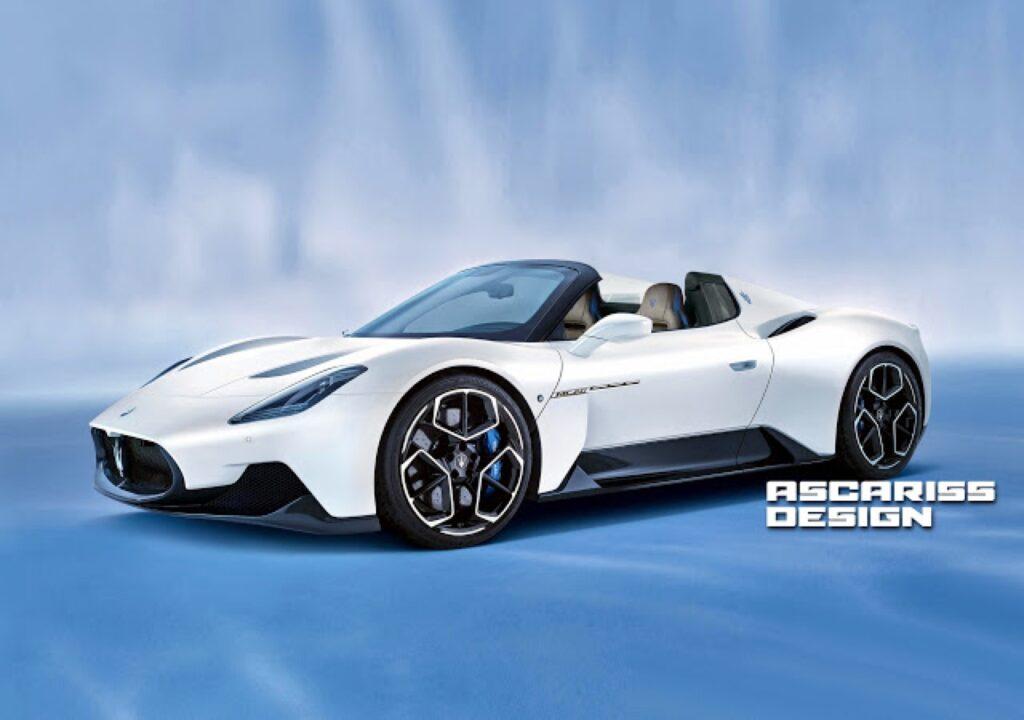 Maserati MC20 Spyder: ecco come sarebbe la nuova sportiva modenese a cielo aperto [RENDER]