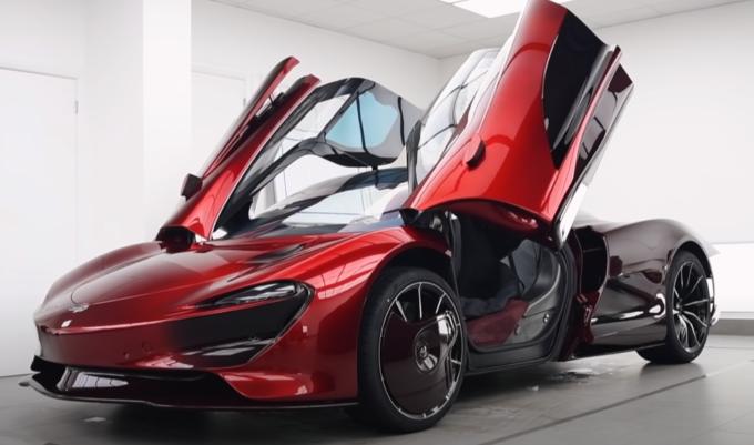 McLaren Speedtail: focus su un fascinoso esemplare unico [VIDEO]