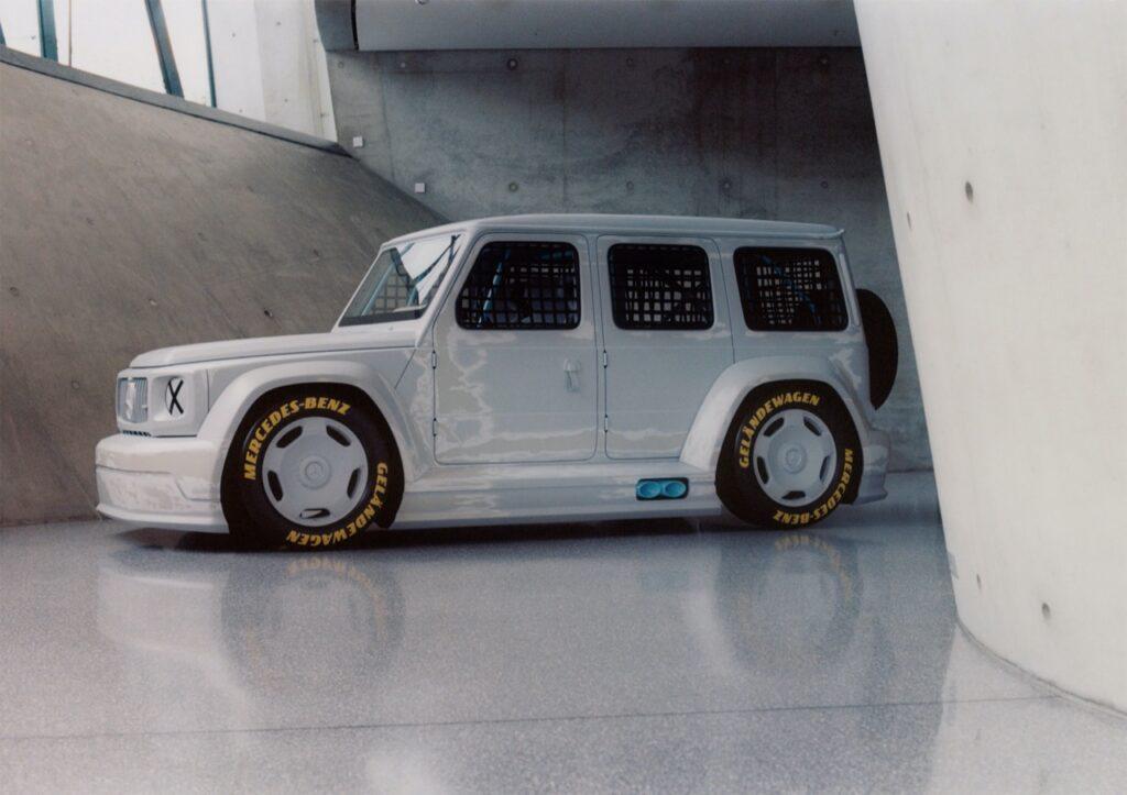 Mercedes Project Geländewagen: il classe G da pista all'asta di Sotheby's, come fosse un'opera d'arte [VIDEO]