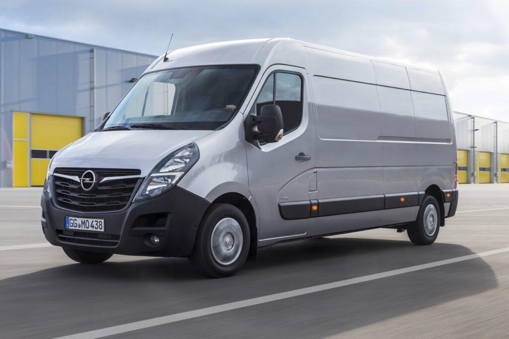 Opel Movano: la versione elettrica debutterà nel 2021