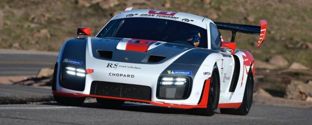 Porsche 935 alla Pikes Peak 2020. L'on-board di Jeff Zwart è da paura [VIDEO]