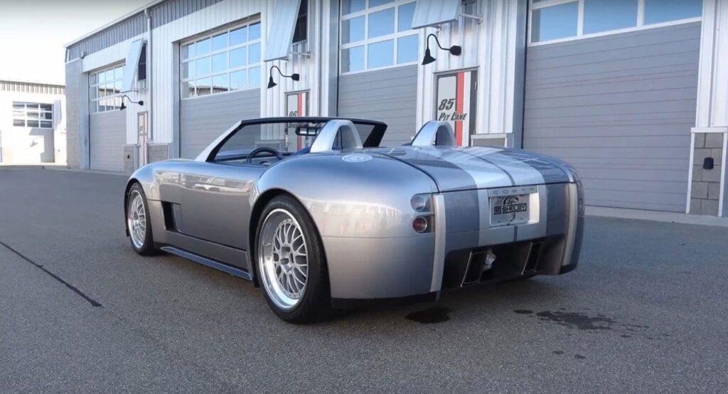 Shelby Cobra Concept 2004: il SOUND del suo V10 da 650 CV è mostruoso [VIDEO]