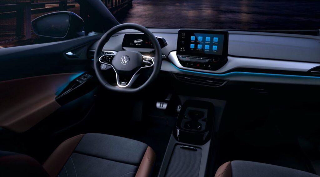 Volkswagen ID.4: diamo uno sguardo agli interni del nuovo SUV elettrico