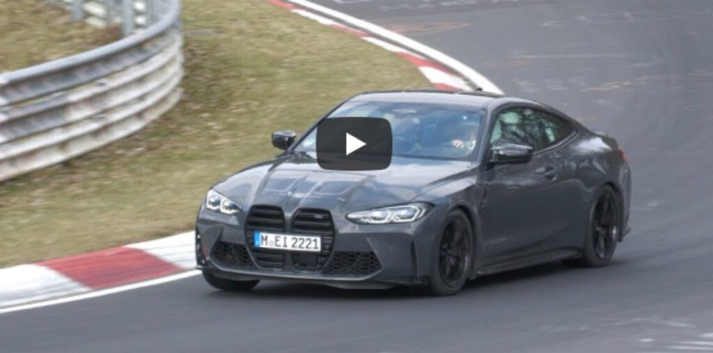 BMW M4 Competition 2021: sentite il SOUND dei suoi 510 CV al Nurburgring [VIDEO]