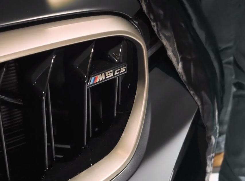 BMW M5 CS 2021: tutte le informazioni. Il motore ibrido e l'uscita [VIDEO TEASER]