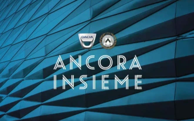 Dacia: si rinnova la partnership con l'Udinese Calcio
