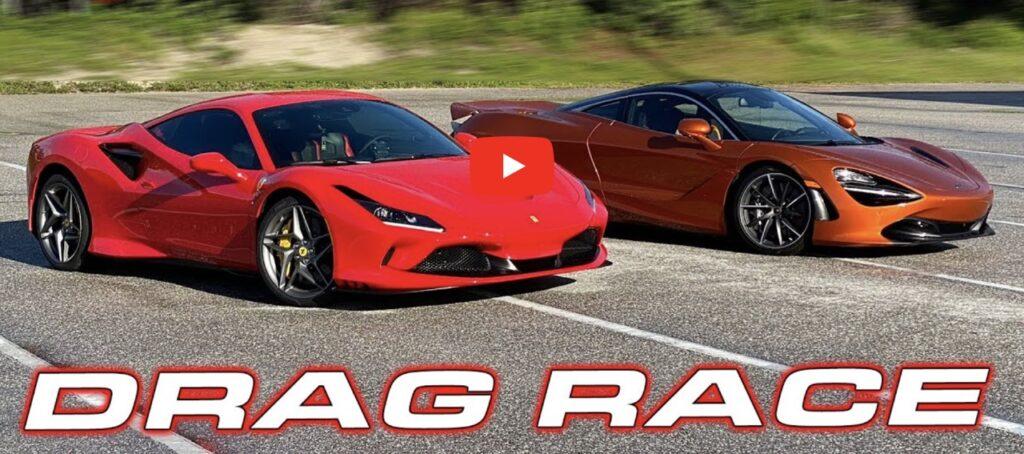 Ferrari F8 Tributo: sarà più veloce della McLaren 720S sul quarto di miglio? [VIDEO]