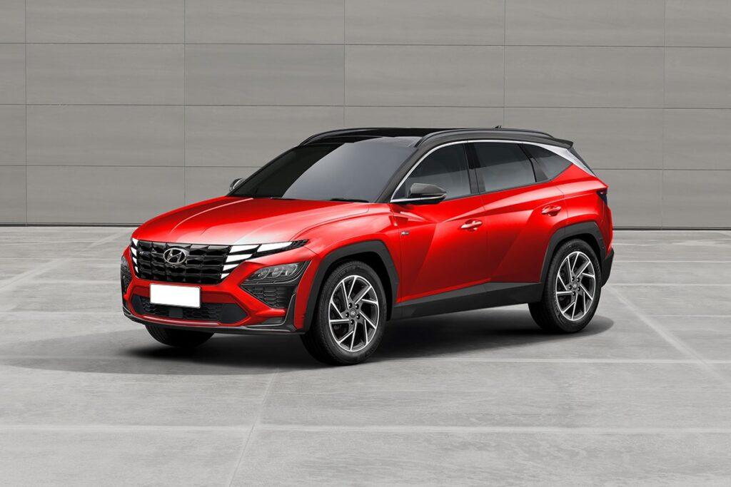Hyundai Tucson N: aspettando la variante sportiva [RENDER]
