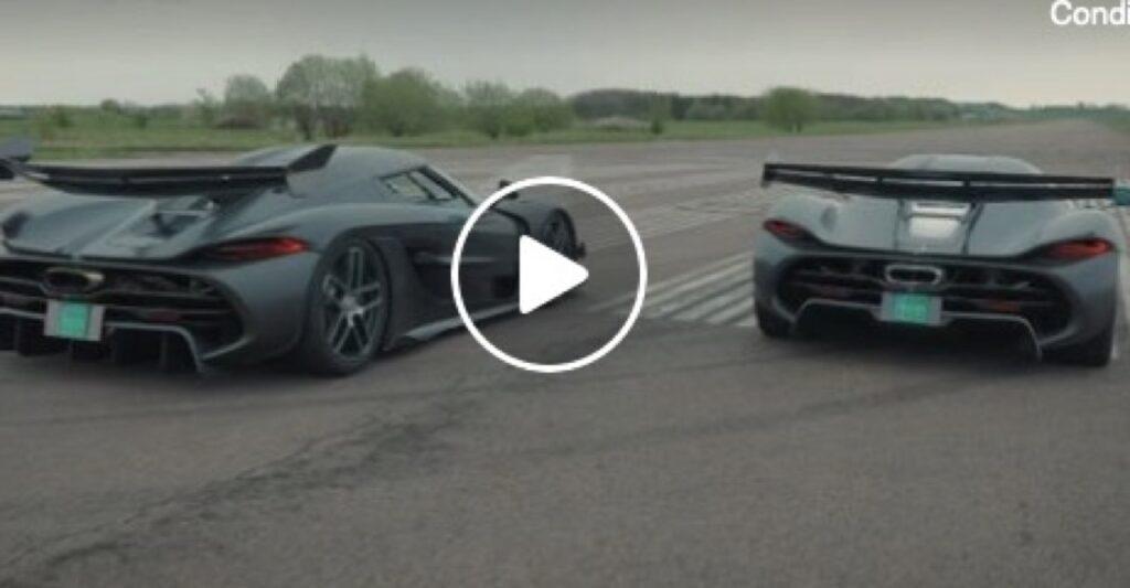 Koenigsegg Jesko: com'è derapare in una pista desolata con più di 1.600 CV [VIDEO]