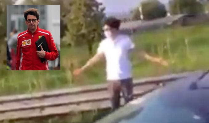 Mattia Binotto: l'incidente con la sua Stelvio Quadrifoglio, il VIDEO già virale sul WEB