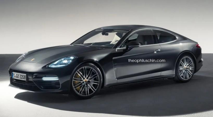 Porsche Panamera: torna d'attualità la variante coupé? [RENDER]