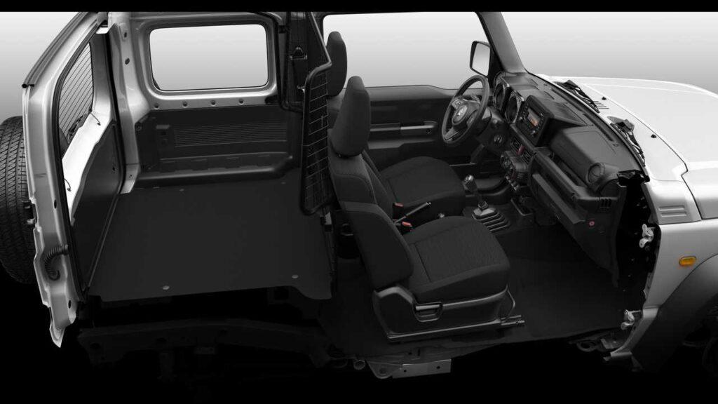 Suzuki Jimny diventa un furgone. Ecco la versione autocarro