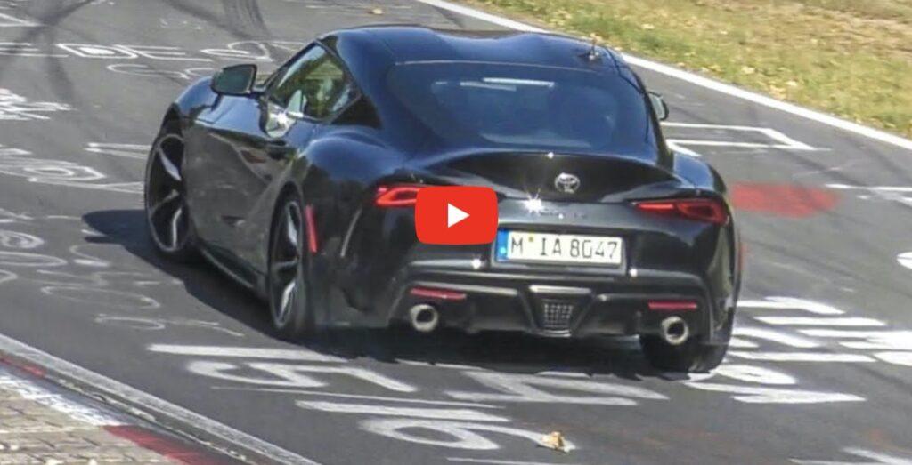 Toyota Supra GRMN: forse in cantiere una versione con il motore della BMW M3 [VIDEO]
