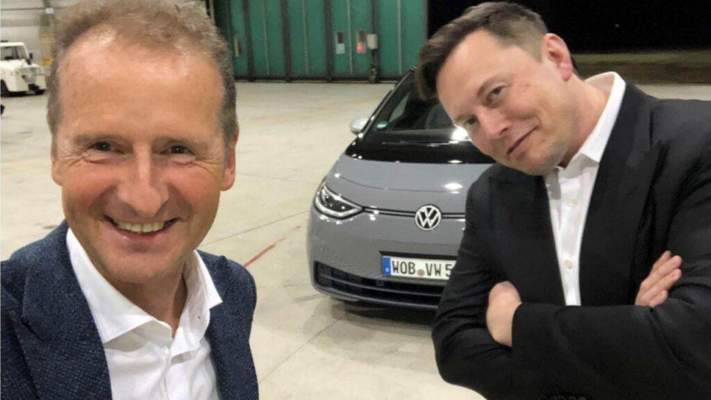 Volkswagen ID.3 2020: la prova su strada di Elon Musk [VIDEO]