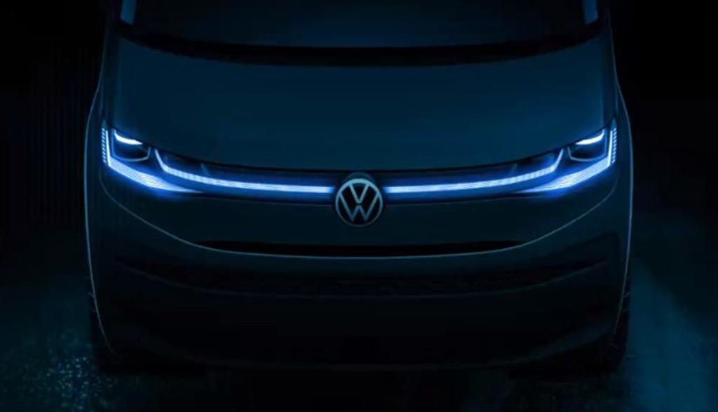 Volkswagen Transporter T7 2021: arriverà in aprile [TEASER]