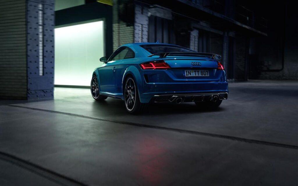 Audi TT: arriva l'inedito pacchetto S Line Competition Plus