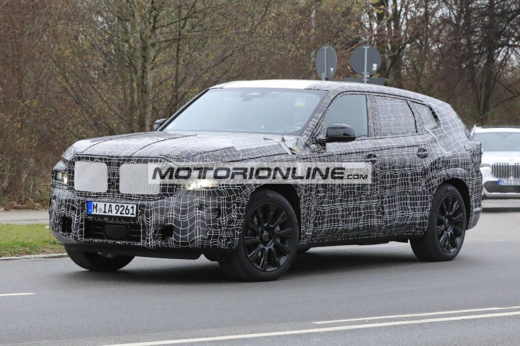 BMW X8 - Foto spia 3-12-2020