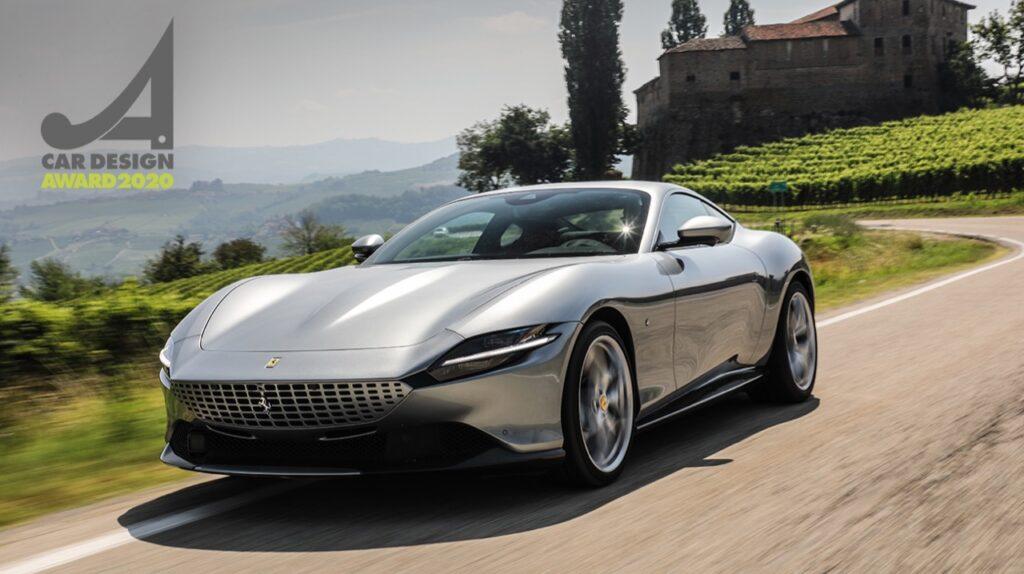 Ferrari Roma: la vettura premiata ai Car Design Award 2020
