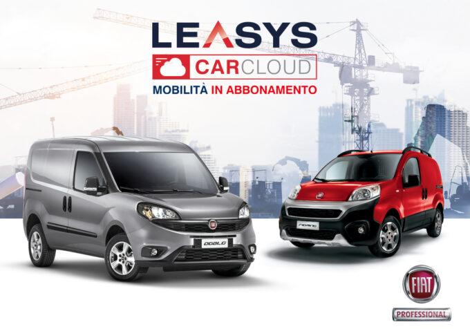 Leasys CarCloud Pro: arriva il primo abbonamento ai veicoli commerciali