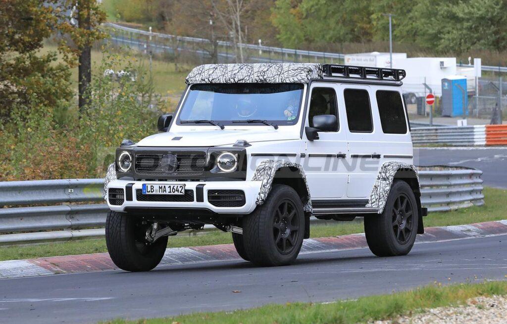 Mercedes-AMG G 4x4 2022 - Foto spia 22-03-2021