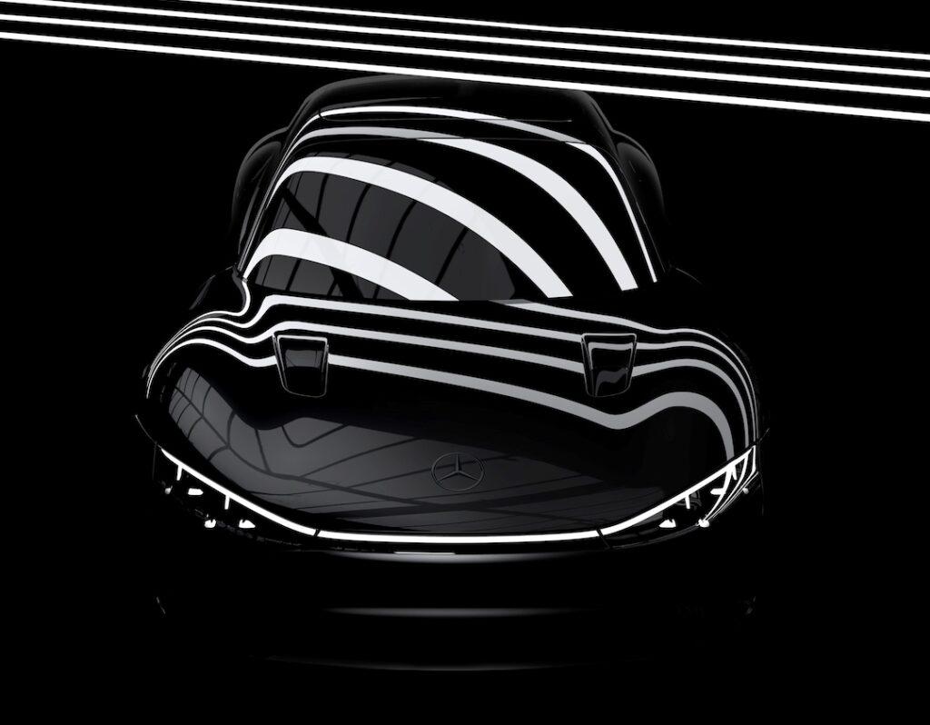 Mercedes Vision EQXX: anticipazione del prototipo elettrico [TEASER]