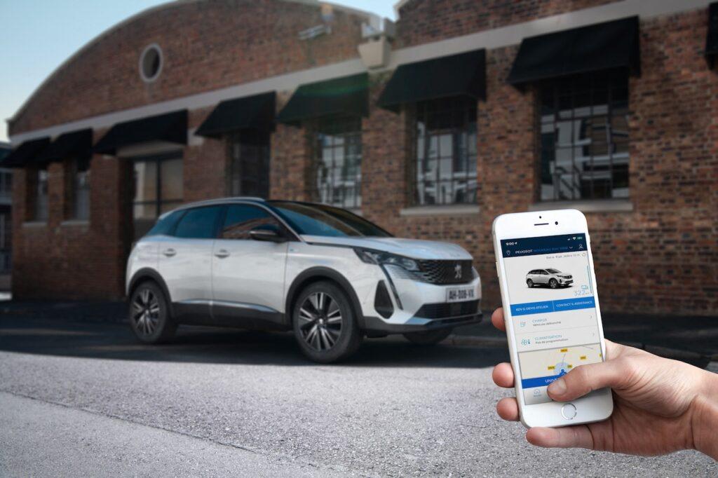 Peugeot: l'app per gestire la propria vettura in tempo reale