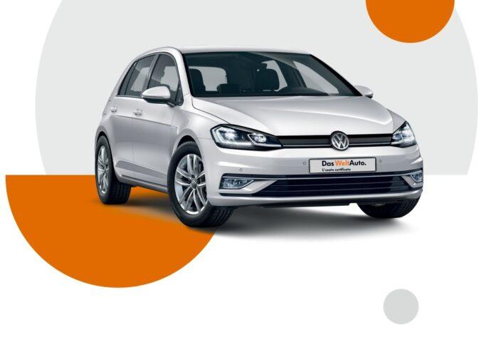 Volkswagen Golf usata: offerta da 129 euro al mese con Progetto Valore Volkswagen