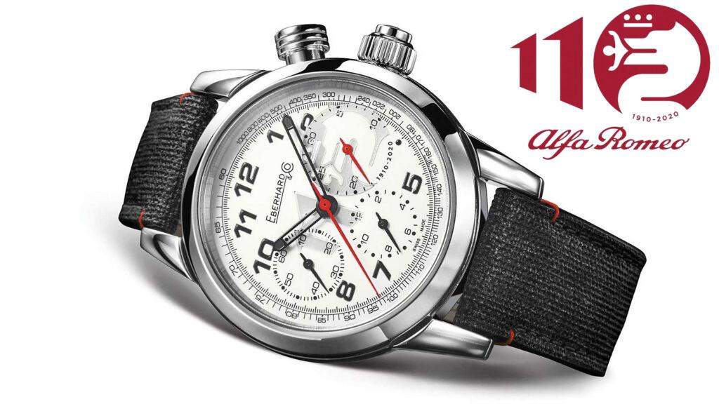 Alfa Romeo e Eberhard & Co.: per i 110 del Biscione un cronografo da collezione [FOTO e VIDEO]