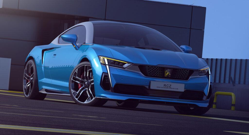 Peugeot RCZ: la coupé sportiva rivisitata per il 2020 [RENDER]