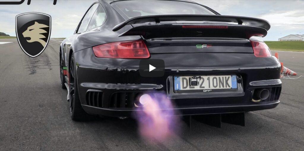 Porsche 9FF 997 GT2: oltre 2.000 CV, taglia il mezzo miglio a 358 km/h [VIDEO]