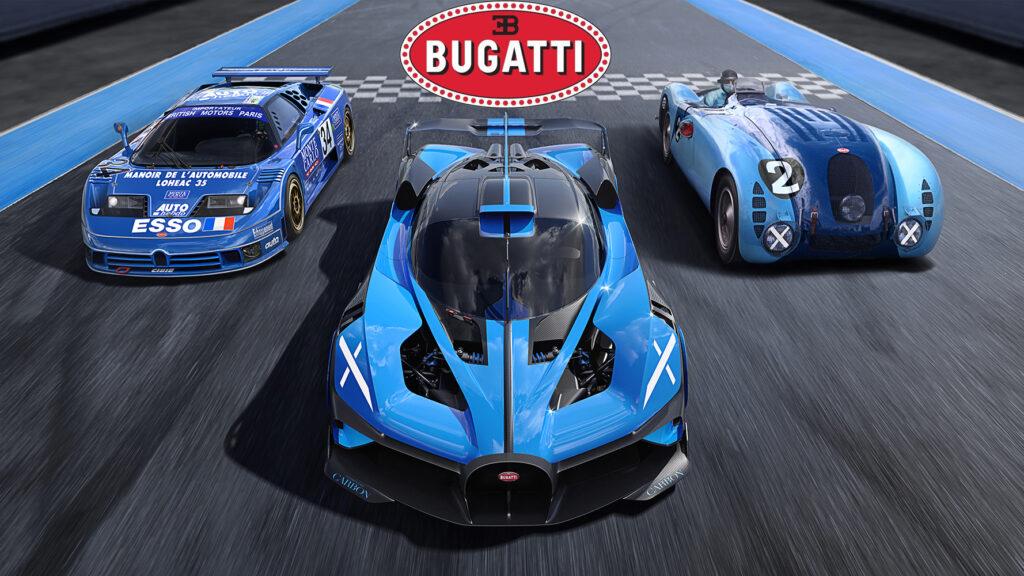 Bugatti: la storia del celebre badge Macaron