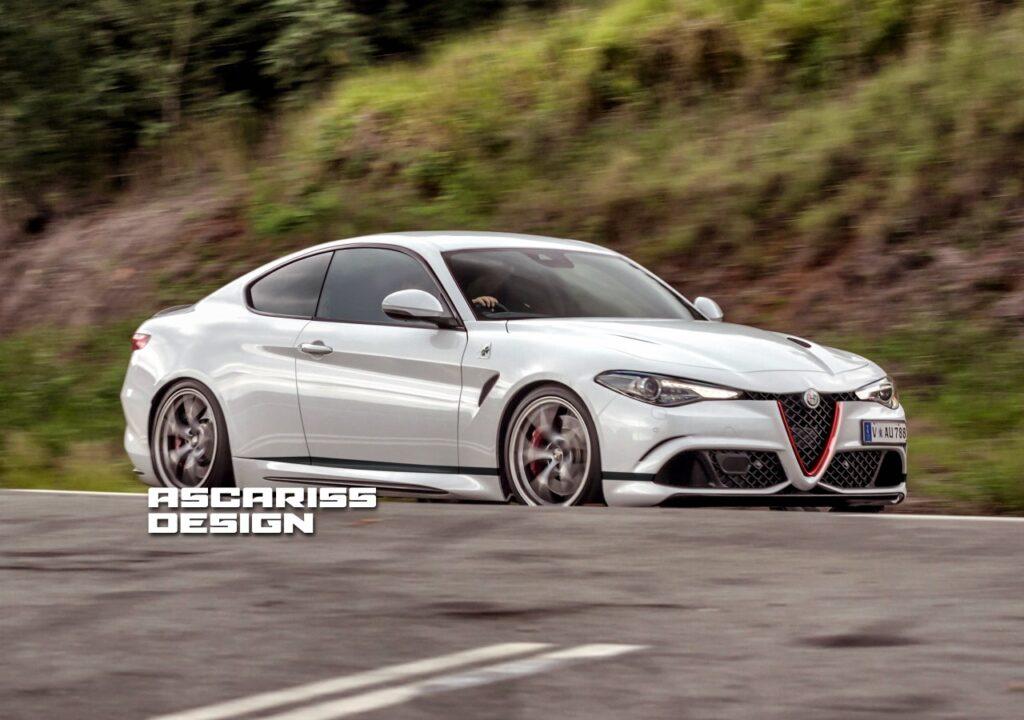Alfa Romeo Giulia Coupe: quell'intramontabile desiderio di sportività [RENDER]