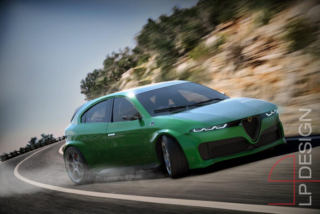Alfa Romeo Giulietta 2021: il concept che immagina la futura compatta [RENDER]